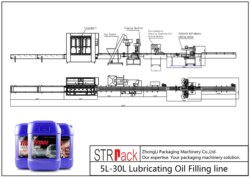5L-30L自动注油线