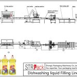 自动洗碗液灌装线
