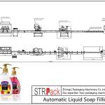 全自动液体肥皂灌装线
