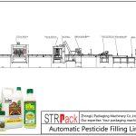 农药自动灌装线