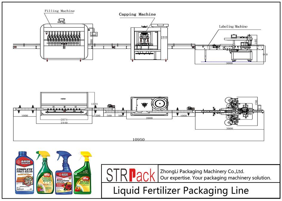 液体肥料自动包装线
